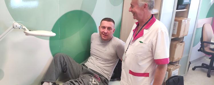 Волонтерський проект врятував бійця від тяжкого каліцтва
