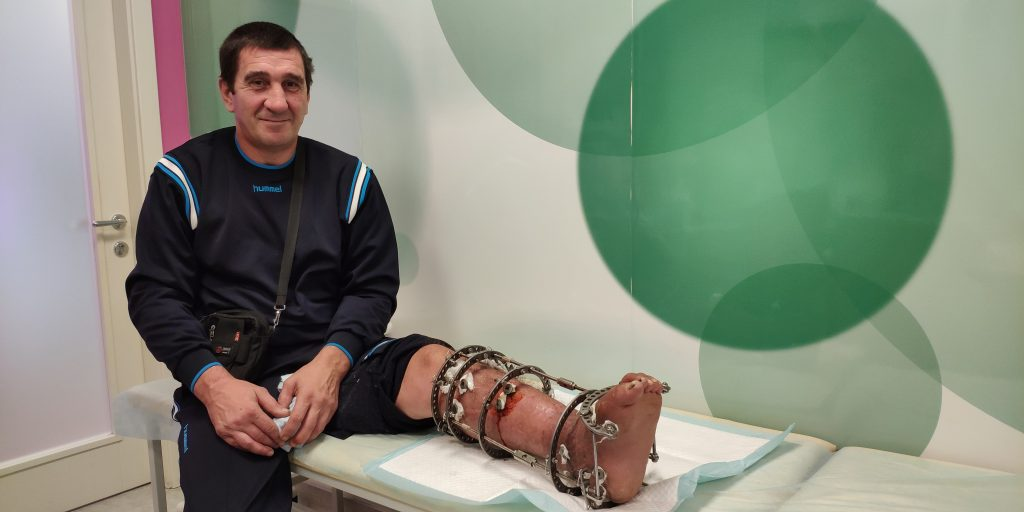 Andriy B, 40. Treatment completed. Rehabilitation is in progress | People's project
