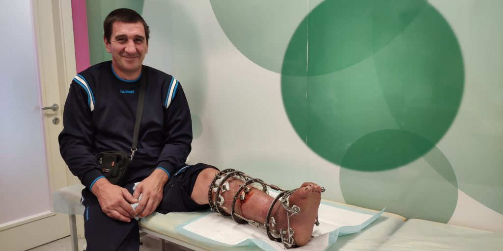 Four years on crutches. Veteran of the 30th Mechanized Brigade gets chances for recovery | People's project