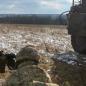Військові розгромили  заборонену бойову техніку росіян