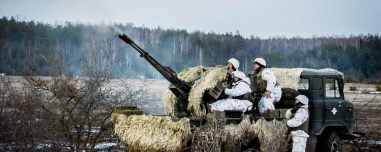 Терористи РФ випустили 121 снаряд по мирним людям та військовим за добу