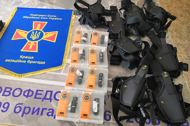 People's Project допоміг бойовим пілотам-штурмовикам | People's project