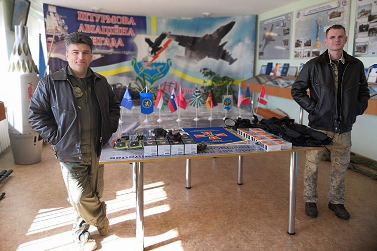 People's Project supports fighter pilots | People's project