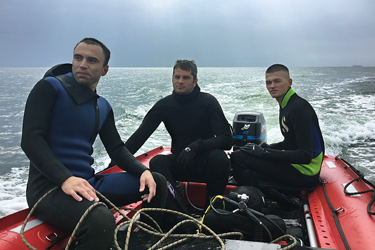 The School of Military Divers: a new stage launched. Helping Airborne Rescuers | People's project