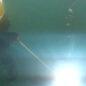 Military divers fix combat ship damage at sea