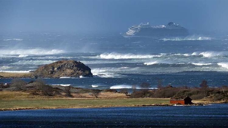 The incident involving a cruise ship near the Norwegian coast: how the rescuers had their work done | People's project