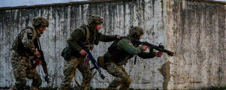 Військові розгромили мінометну позицію окупантів (Відео)