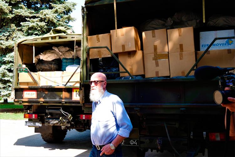 Життєво необхідне: погляньте, яку допомогу надали українцям із Латвії та Швецарії | People's project