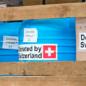Essentials arrived: look how Latvia and Switzerland help Ukrainians