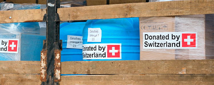 Essentials arrived: look how Latvia and Switzerland help Ukrainians