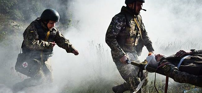 Український військовий підірвався на вибухівці ворожої ДРГ