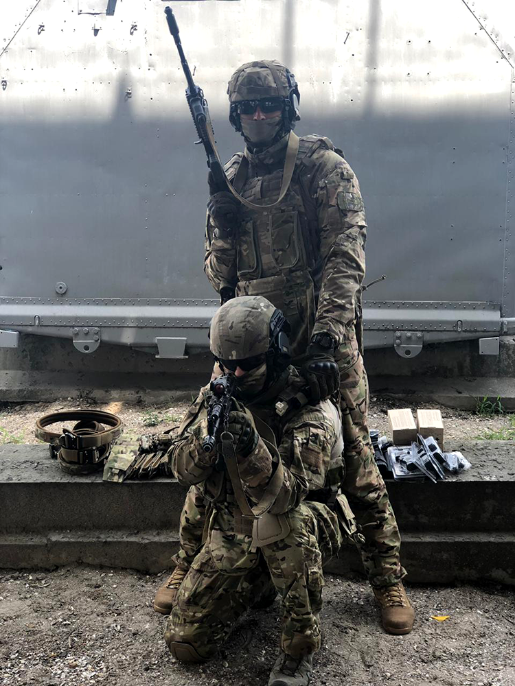 SpecOps unit happy with their new gear, the guys send a big thanks | People's project