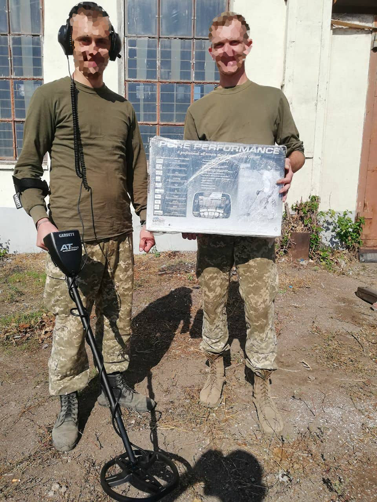 Look what we've sent to sappers to the forefront | People's project
