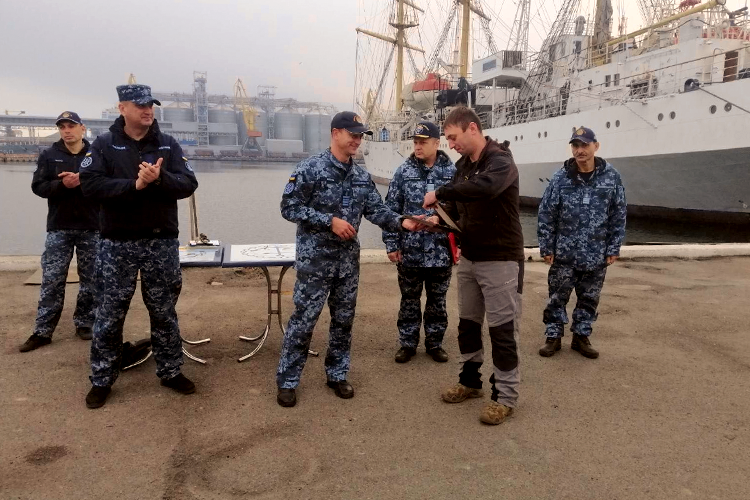 Here's the finale: first recruits have graduated the Ukrainian Navy Diving School! | People's project