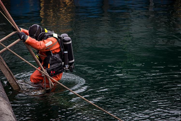 Пішли на дно: молоді бойові водолази взялися до практики | People's project