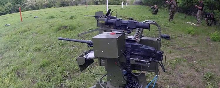 Звітуємо: передали військовим кулеметну турель