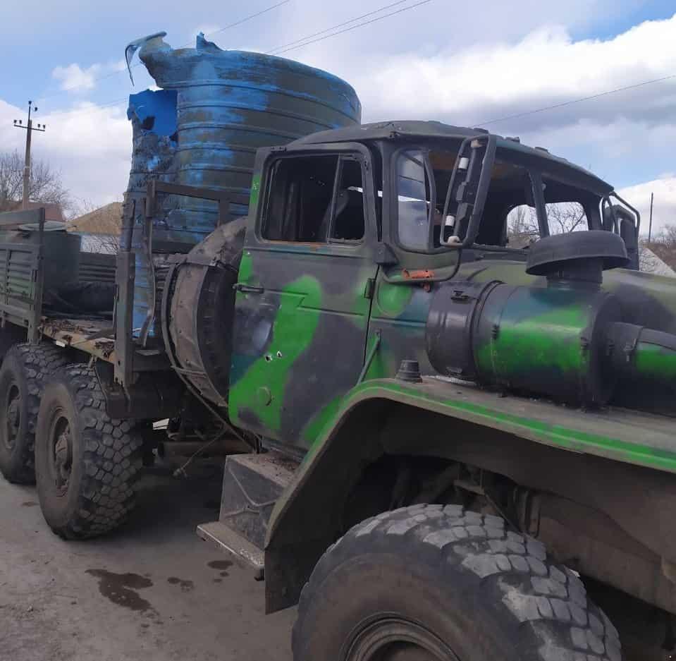 Що робиться на фронті: військові помстилися за підбиті вантажівки | People's project