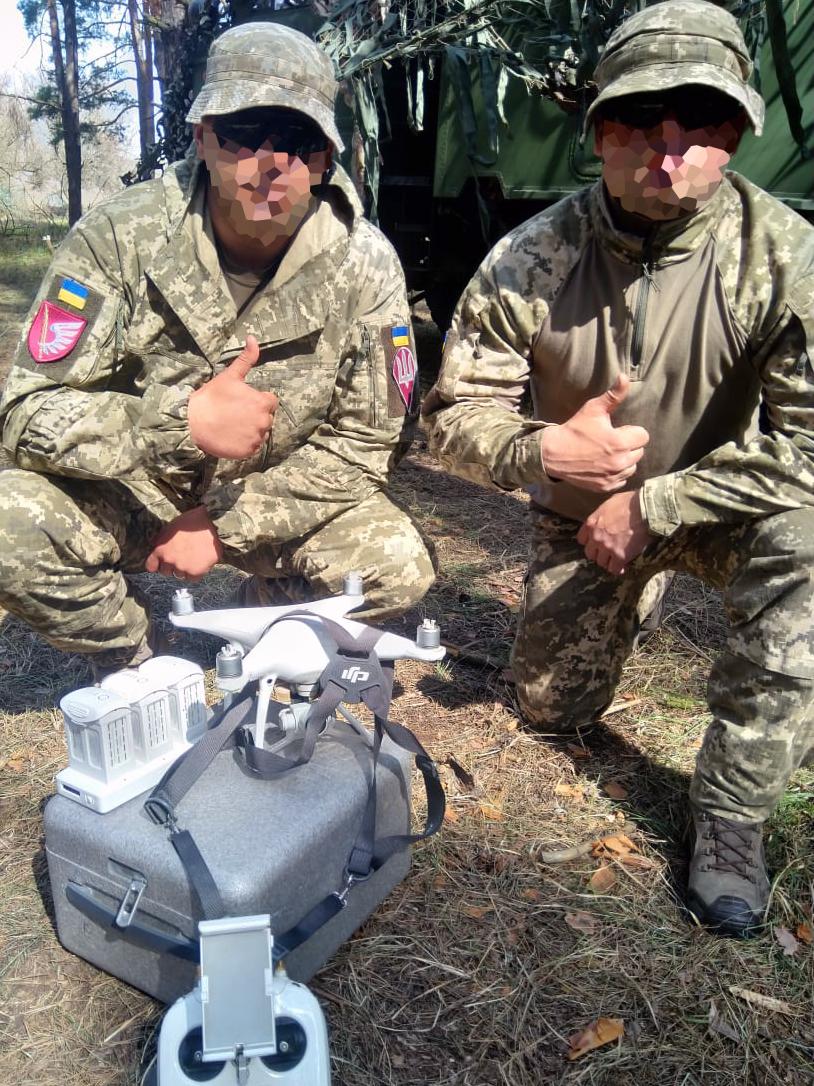Допомогли десантникам: передали спорядження для аеророзвідки | People's project