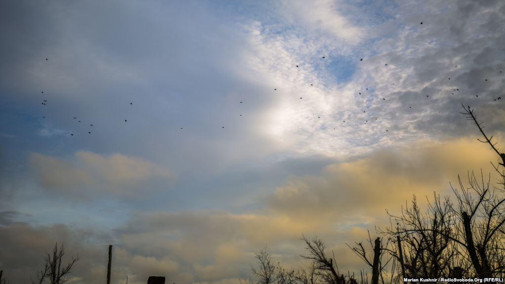 Донбаське небо над позиціями українських військових