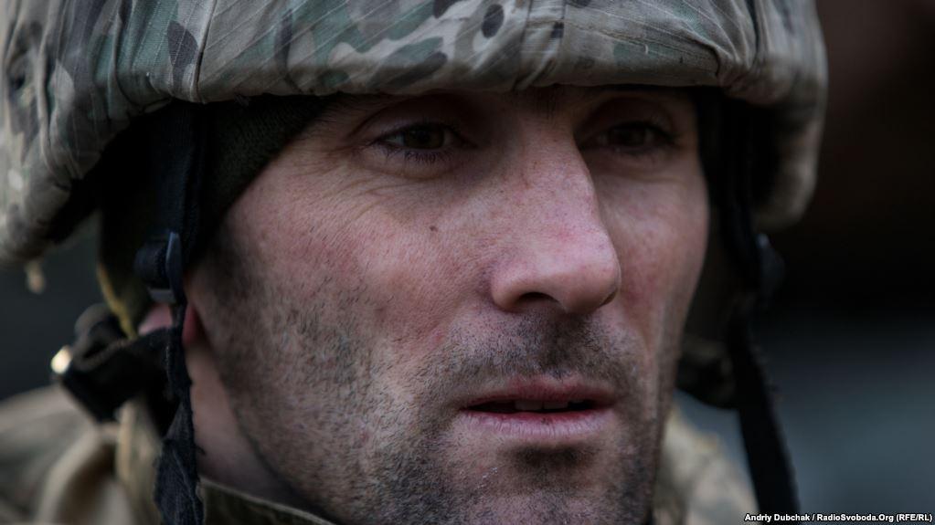 Іван, військовий, який скрізь супроводжував кореспондентів на позиціях